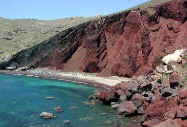 Red Beach, Greece