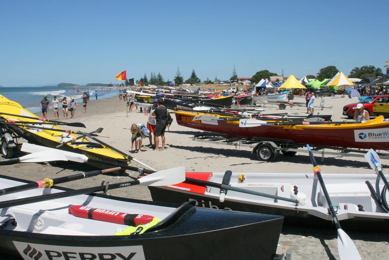 North Island Surf Boat Champs at Waihi