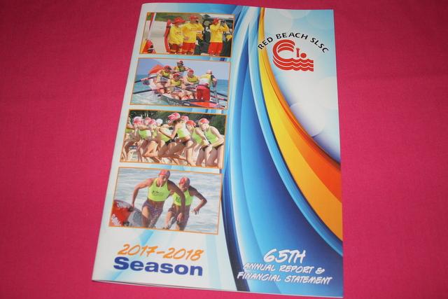 Red Beach SLSC Annual Report : 2017-18