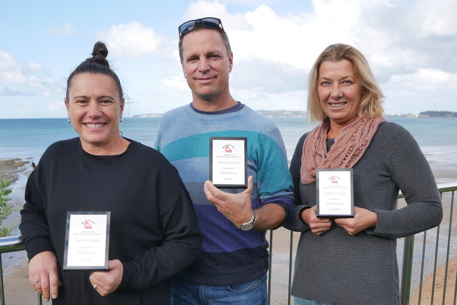 Awards presented at Red Beach AGM