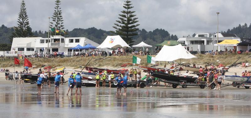 Nz Surf Boat Series Round 2 Whangamata Red Beach Surf Life