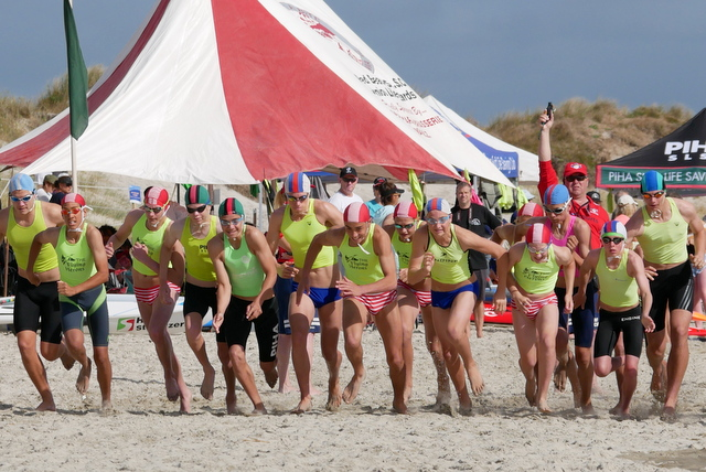 Strong club presence at Waipu Cove for surf carnival