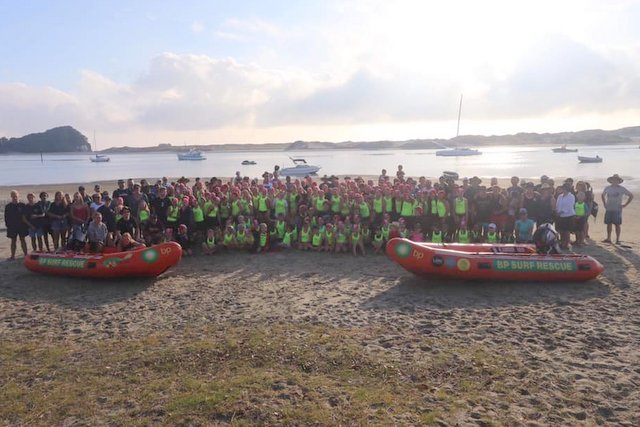 Thumbs up for the Mangawhai camp
