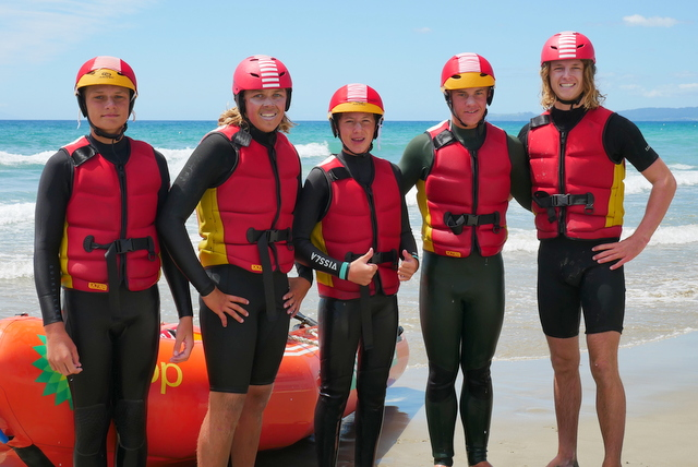 Red Beach back into IRB racing