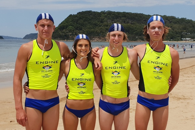 Red Beach athletes hit form on Central Coast