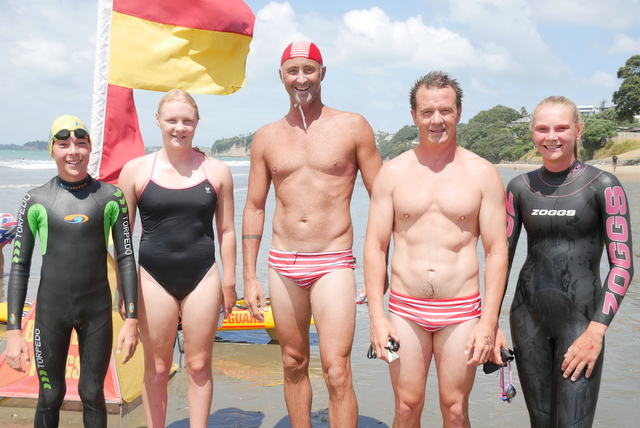Lifeguards home first in Open Water Swim