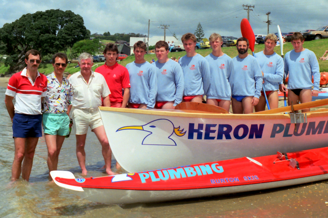Surf boats the cornerstone of Heron sponsorship