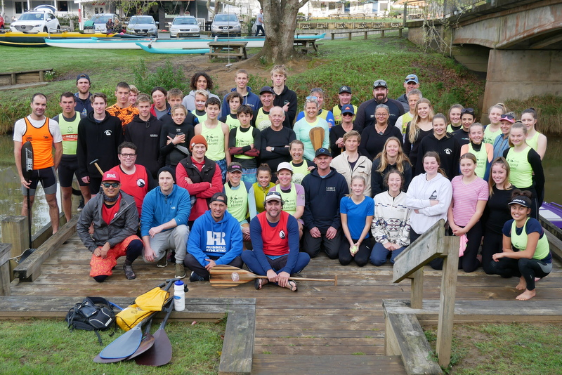 Record numbers, ideal conditions for Pub to Club paddle