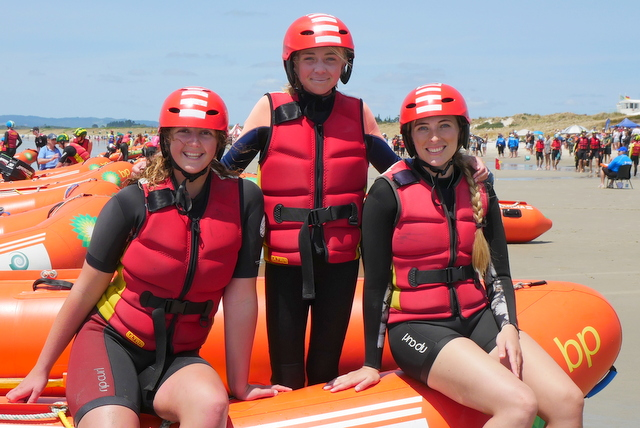Women's IRB crew makes its debut