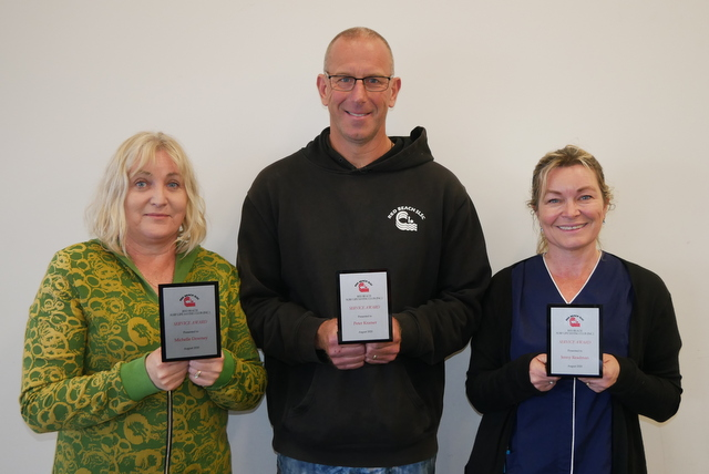 Eleven awards handed out at AGM