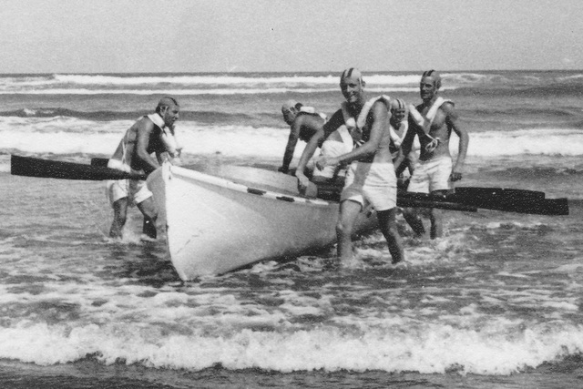 First Red Beach surf boat had a shortened life