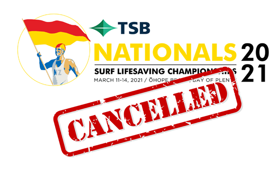 2021 National Championships cancelled
