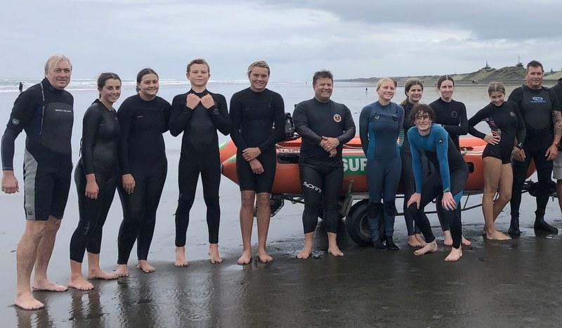 Club lifeguards keen to achieve IRB crewman award