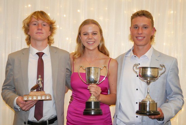Three athletes snare awards for Ski, Board & Ironperson competition