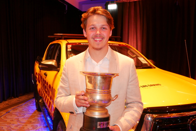 Surf Lifeguard of the Year Award won by Harry Mellor