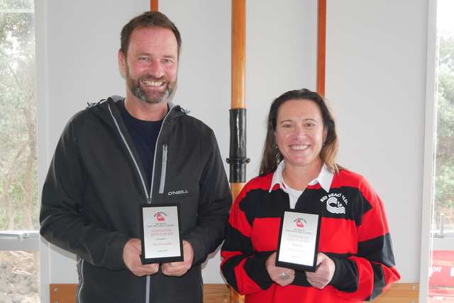 Nine awards handed out at club's AGM