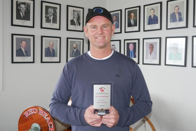 Red Beach Life Membership for Mark Readman