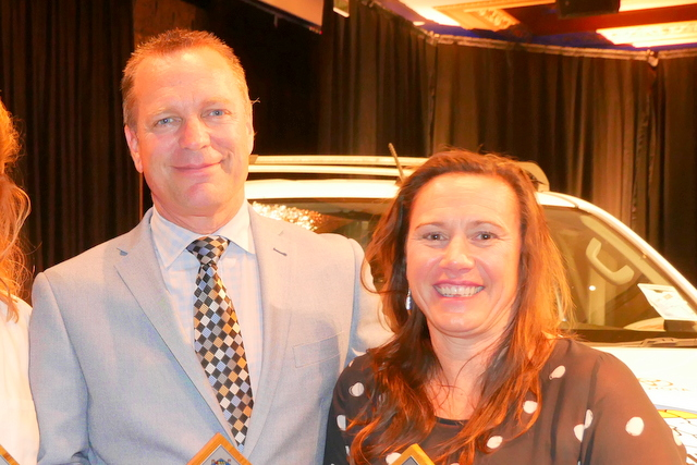 SLSNZ Service Awards for Red Beach trio