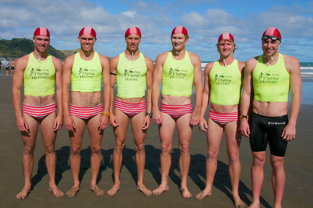 Sensational Taplin Relay win to Red Beach